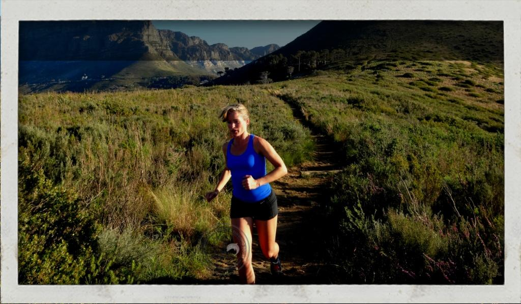 Table mountain running guided tour