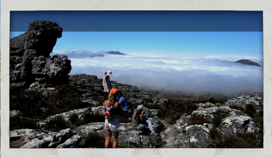 trail running and hiking in Cape Town