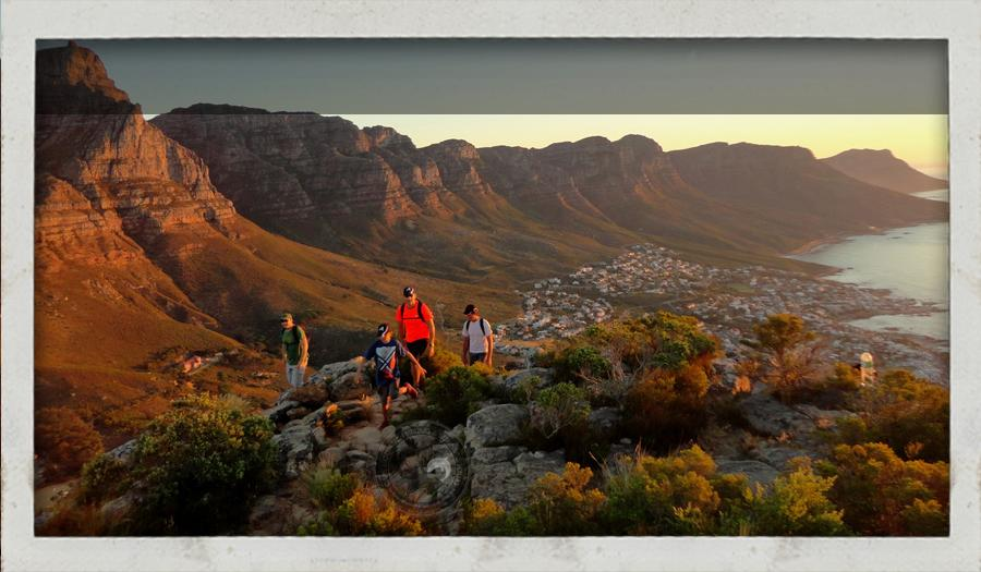 walks and hiking trail up Table Mountain