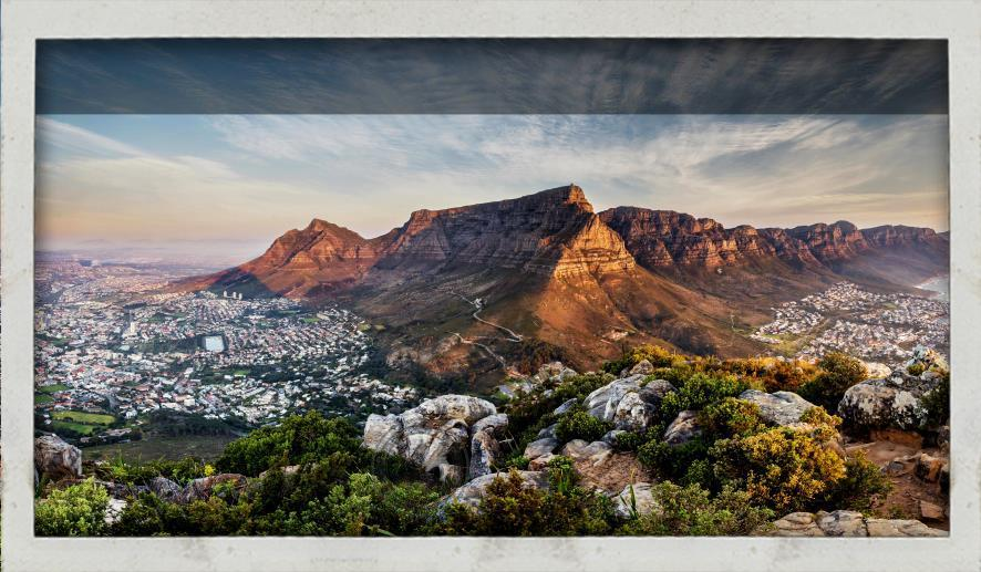 Table Mountain view from Lion Head
