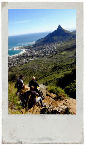 view of Lion's Head in Cape Town