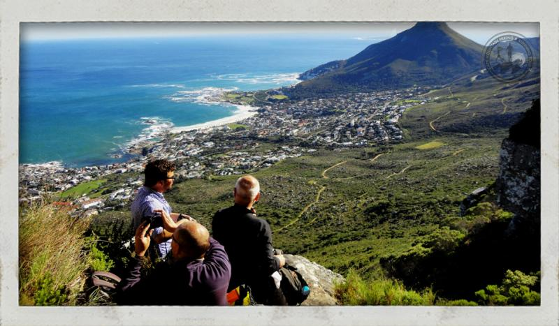 View of Lion's Head from Table Mountain the Kaastel Port hike