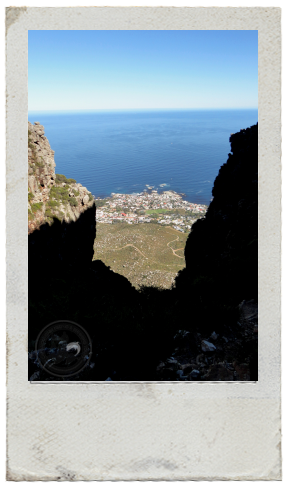 Hiking Table Mountain via Kasteel's Poort